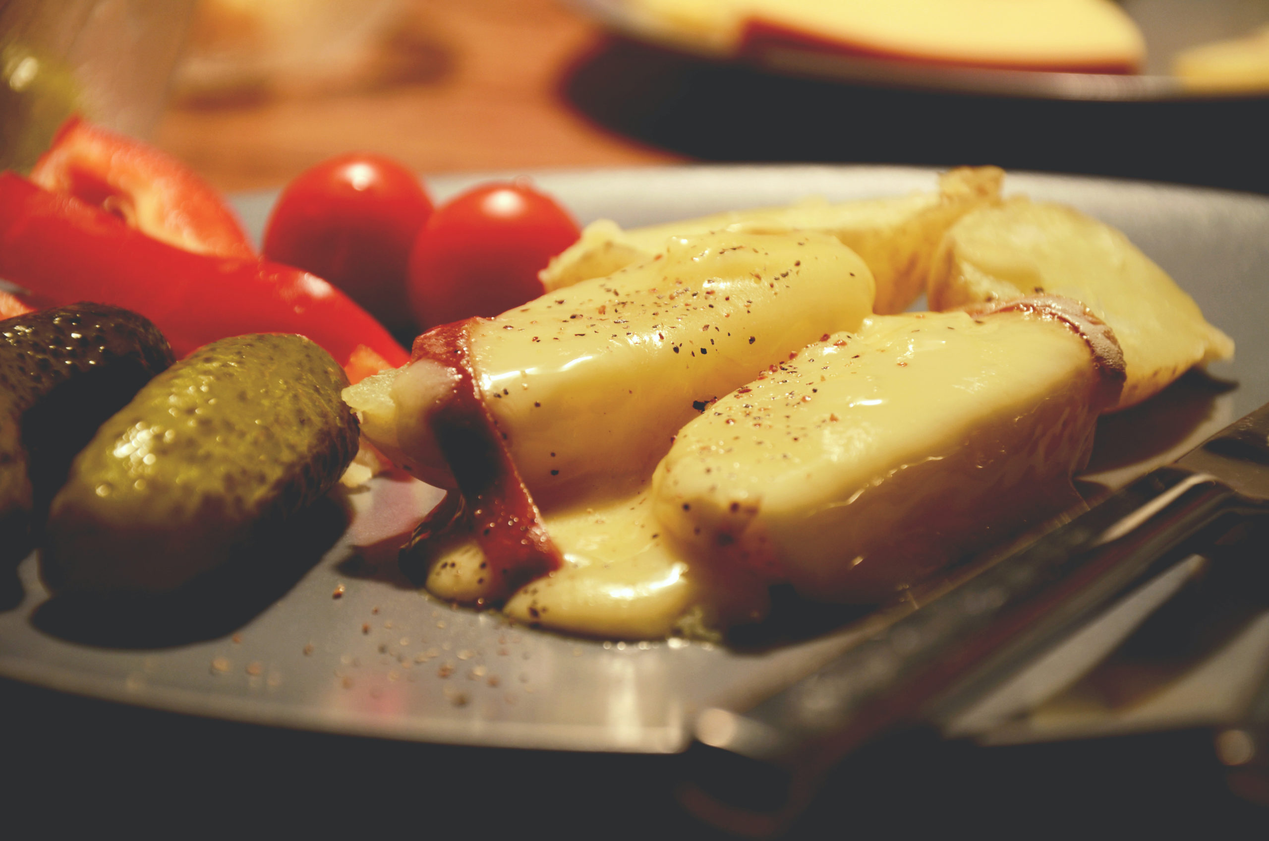 Raclette traditionnelle suisse